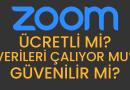 Zoom Ücretli Mi, Verilerimizi Çalıyor Mu, Güvenli Mi? #evdekal